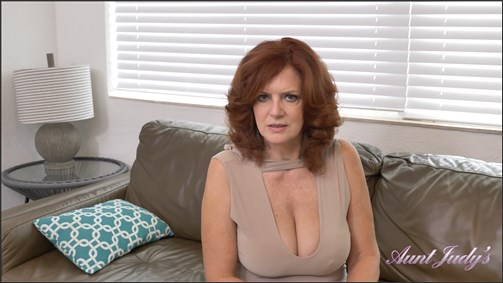 Andi James - Auntie Jerks You Off And Sucks Your Cock