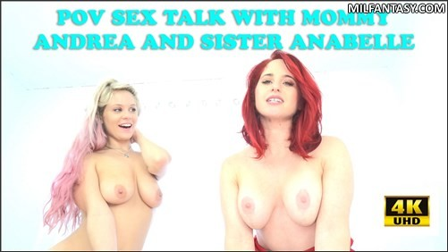 Andrea Rosu Annabelle Pync - Virtual Sex With Mom And Your Sis