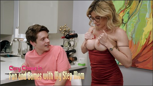 Cory Chase in Fun and Games With Stepmom