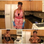 Dani Dupree – Stepmom kitchen apron fun