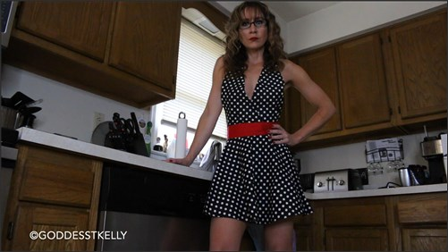 GoddessTKelly - Uh Oh Mommy Found Your Cum Socks