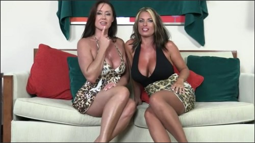 Goldie Brair Christina Carter - Mother And Aunt Tease