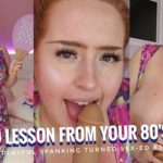 Gwenadora – BBW 80s Mommy Gives You A Sex-Ed Blowjob