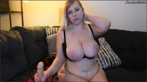 Jocelyn Baker - Annoyed Step Mom Strokes Your Dick