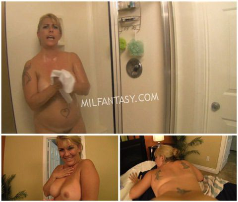 Joclyn Stone - I spy my stepmom in the shower - milfantasy.com