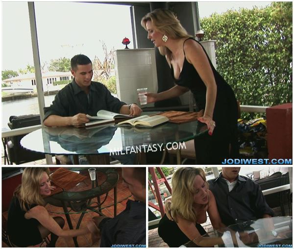 Jodi West - Failing Son Gets A Handjob