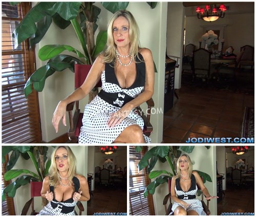 Jodi West - Mom Jerk Off Instructions