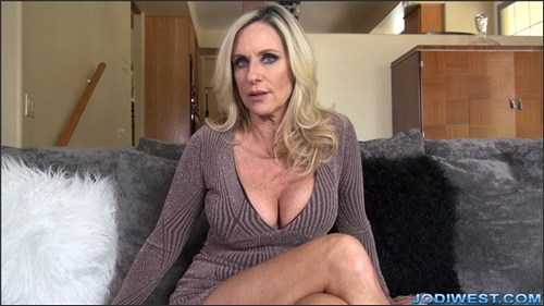 Jodi West - StepSon Jerk Off Instruction