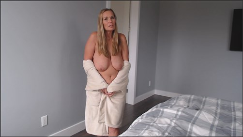 Kimi The Milf Mommy - Mommy says its OK to cum on the sheets