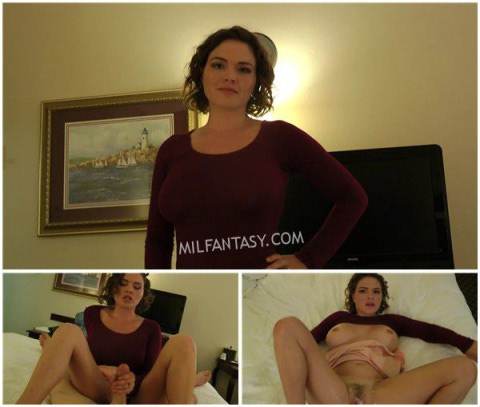 Krissy Lynn - Whore Stepmom Catches You Jerking Off And Fucks You