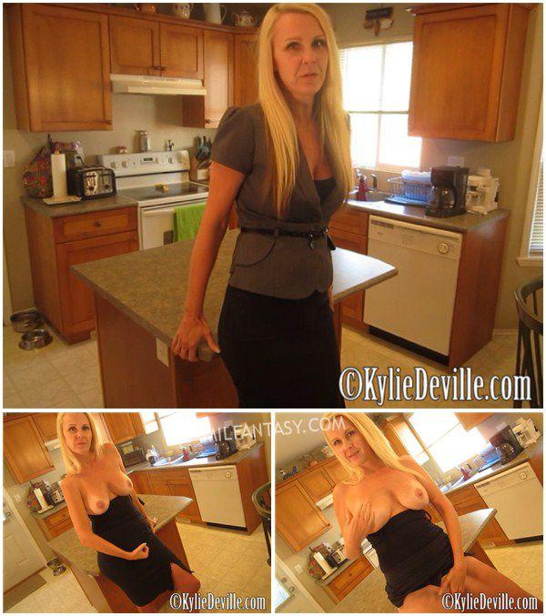 Kylie DeVille - MILF Next Door Jack Off Instruction - milfantasy.com