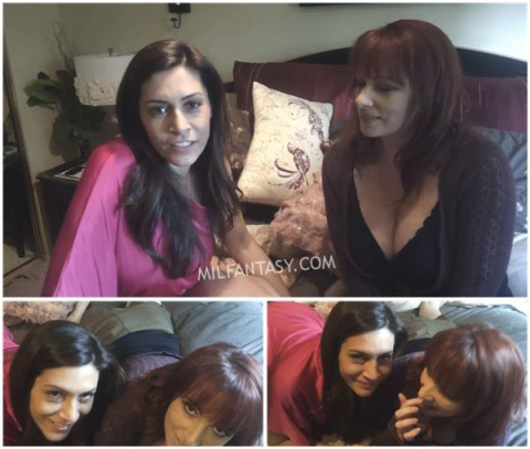 Kylie Ireland - Your stepmom and her sister BOTH suck your dick