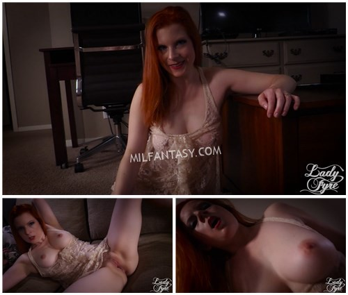 Lady Fyre - Mommys Horny Little Boy