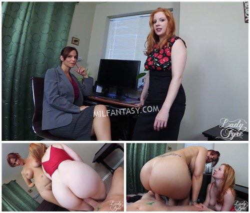 Lady Fyre Syren Demer - Time Out Detention for Distracted Student
