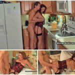 Margo Sullivan – Mom gives son his breakfast Fuck