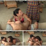 Margo Sullivan – Mother Catches Daughter Giving Her Brother A Blow Job