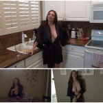 Mindi Mink – Mom tease son in kitchen