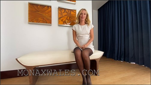 Mona Wales - Jerk Off To Mommys Butthole