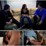 Taboo threesome between a hot mom and her two sons
