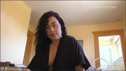 Natalie Wonder - Mommy Dutifully Drains All That Built Up Semen From Your Engorged Balls Per Doctors Orders