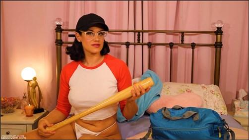 Penny Barber - Mom Fucks Herself with a Baseball Bat