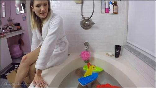 Reagan Lush - Your Mom Reagan Gives You A Bathtub HJ