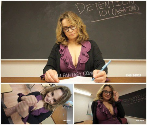 Rebecca Bardoux - Teacher motivational footjob