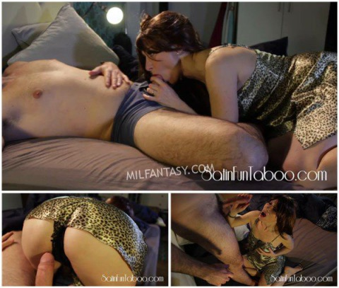 Satin Fun Taboo - Mommy Late night visit
