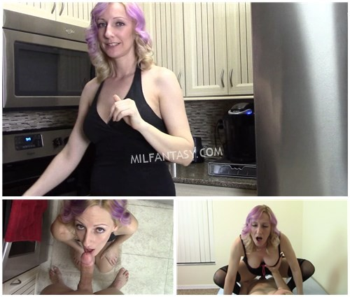 Taboo Adventure Starts With MILF Mommy Blow Job in Kitchen Moves to Multiple Sex Positions in Bedroom