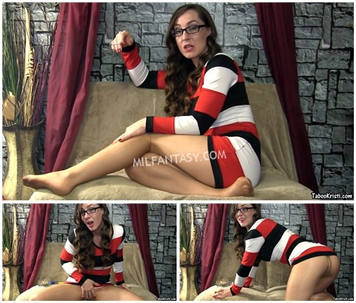 Taboo Milf Kristi - Stroke for Your Smoking Step Mother in Pantyhose