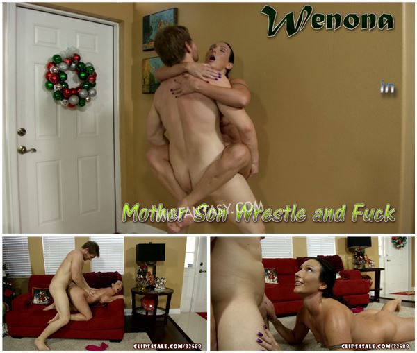 Wenona - Mother Son Wrestle and Fuck