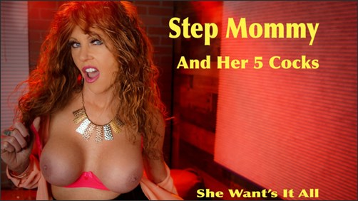 Xtasy Girl - Step Mommy And Her 5 Cocks